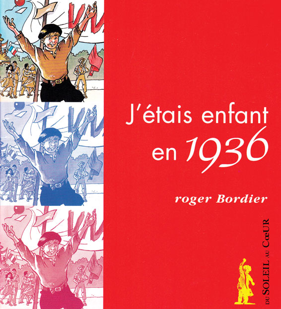 Christian Goux BD, illustrations, jeunesse, J'étais enfant en 1936, couverture